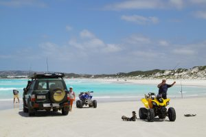 Orleans Bay Caravan Park - Big Wharton quads 4wd fishing