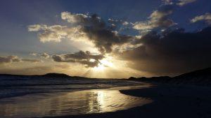 Orleans Bay Caravan Park - Cape Le Grand sunset