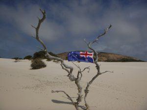 Orleans Bay Caravan Park - Cape Le Grand australian flag