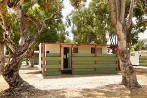 Orleans Bay Caravan Park Park Home outside